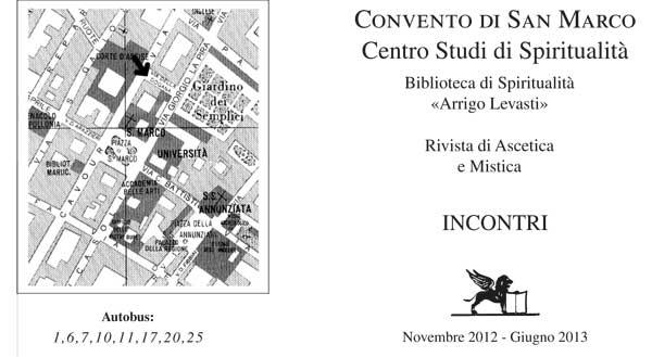 Calendario Incontri San Marco 2012-13