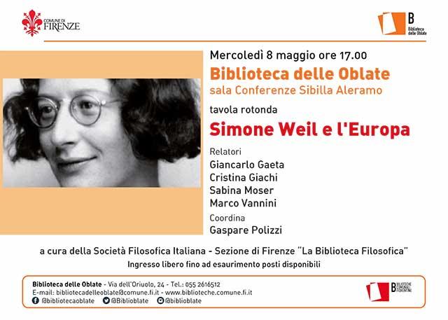 Simone Weil e l'Europa