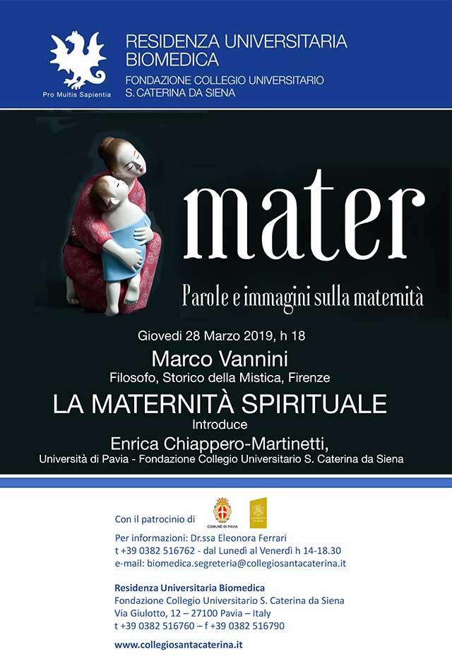 La maternità spirituale