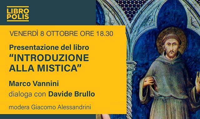 """Presentazione del libro """"Introduzione alla mistica"""""""