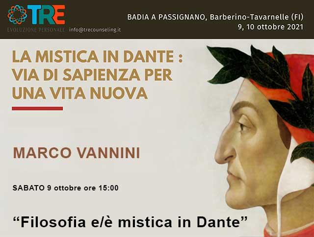 La mistica in Dante