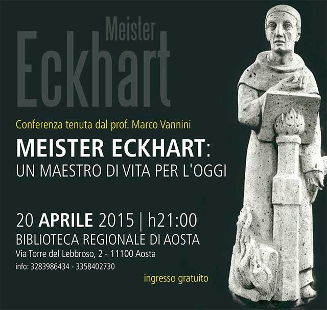 Eckhart un maestro di vita per l'oggi