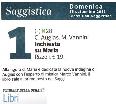 Classifica Saggistica Corriere