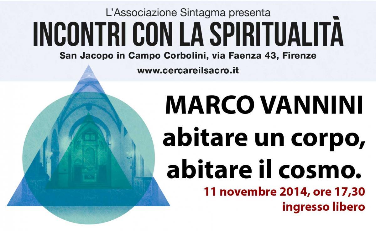 Marco Vannini, incontri con la spiritualità