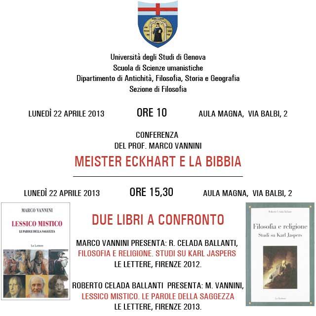 Meister Eckhart e la Bibbia