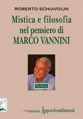 Mistica e filosofia nel pensiero di MARCO VANNINI